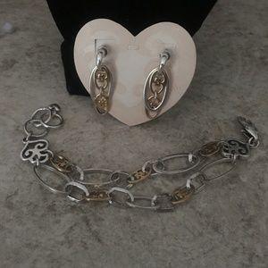 Brighton GENEVA RINGS bracelet & earrings